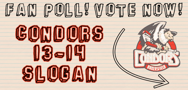 VOTE: Take the Condors Poll for the 2013-14 Slogan