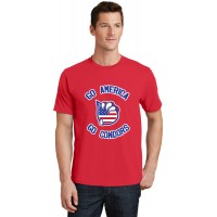 Go America T-Shirt - Red