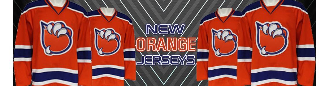 New Orange Jerseys