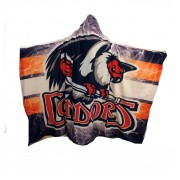 Condors Hooded Blanket