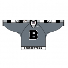 Grey Replica Adult Jersey